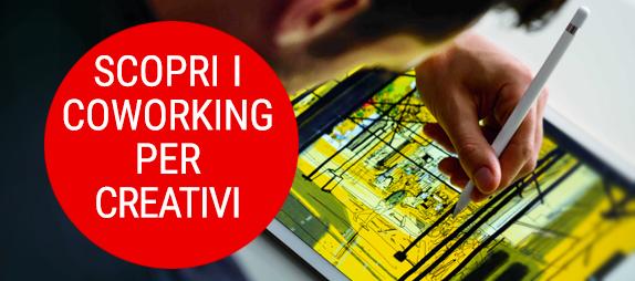 contatti informazioni coworking con adatti alle professioni creative