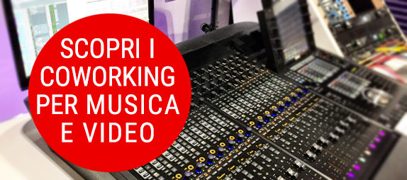 contatti informazioni coworking adatti alla produzione artistica e digitale, YouTuber